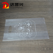 LDPE Transparent Die Cut Bag with Accordion