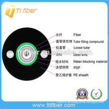 Alta qualidade ao ar livre GYXTW cabo de fibra óptica do tubo central