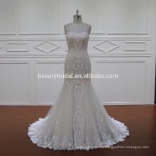 XF1119 bolero lace muslim dress vestidos de novia baratos fabricados en china