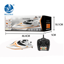 New 2.4GHz High Speed Racing Boat with Double Phase Vessel Cover For Kids