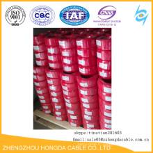 изолированный PVC электрический медный провод дома оптом