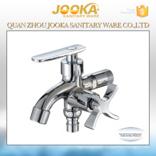 Hot sale New design chrome dual handle double use bibcock