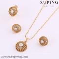 61701-Xuping мода женщина ювелирные изделия набор с 18k позолоченный