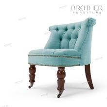 Silla de acento del amortiguador suave decorativo del estilo europeo para la sala de estar