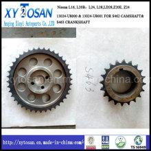 Nissanz24 (S462 S-462 13024U8000 40T Z20E) para a engrenagem do eixo de comando da roda dentada do sincronismo
