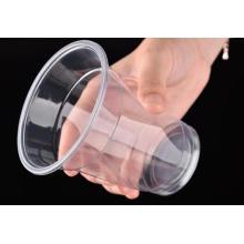 Copo de suco de plástico transparente atacado