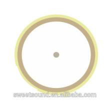 Atacadista de cerâmica piezo cerâmica elétrica redonda 5khz 21mm piezo elétrica