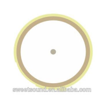Venta al por mayor piezo cerámica elemento redondo 5khz 21mm piezo cerámica eléctrica