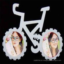 mais recente menino e menina bicicleta foto moldura
