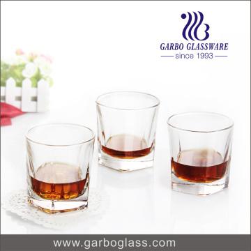 Coppa del whisky di vetro classico di disegno 250ml