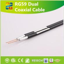 Rg59 коаксиальный кабель структурированная кабельная система с Reach/RoHS одобрил