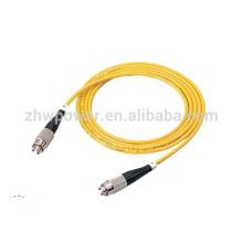 Chine usine simple mode simplex FC fibre optique patch cord chaud vente