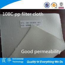 Paño de filtro de poliéster de alta calidad para el tratamiento del agua