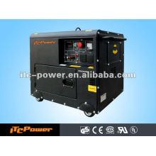 5kva ar refrigerado portátil soundproof gerador de motores diesel conjunto trifásico 50HZ / 60HZ