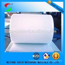 nonwoven 100 percent polyester felt for SBS APP bitumen rolls
