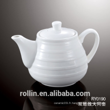 Alibaba High Quality Chine Fournisseur Set de pot de thé en céramique