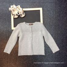 tricotés à la main pulls en laine de bébé automne motifs à tricoter chandails de filles haute qualité supérieure grossiste pour enfants vêtements