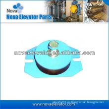 Amortiguador del elevador para la máquina de la tracción del elevador, cojín anti-vibración del elevador