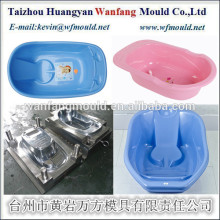 China Taizhou exporters supply baby bath tub product injection mould