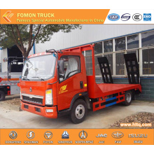 SINOTRUK HOWO 95hp platform lorry for export