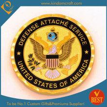Personalizado 2D requintado nacional emblema lembrança esmalte moedas (LN-081)