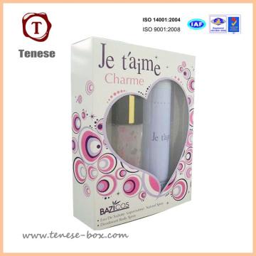Caja de regalo de embalaje de perfume de lujo de cartón