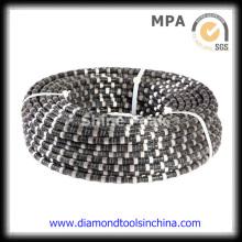 Diamantdrahtsäge für Basalt