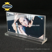 Jinbao clear magnetic photo frame acrylic material