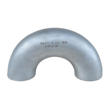 304l butt welded seamless stainless steel elbow