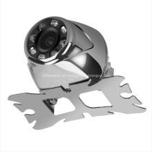 Sistema de estacionamento de veículos que inverte a câmera escondida à prova de choque da visão noturna mini
