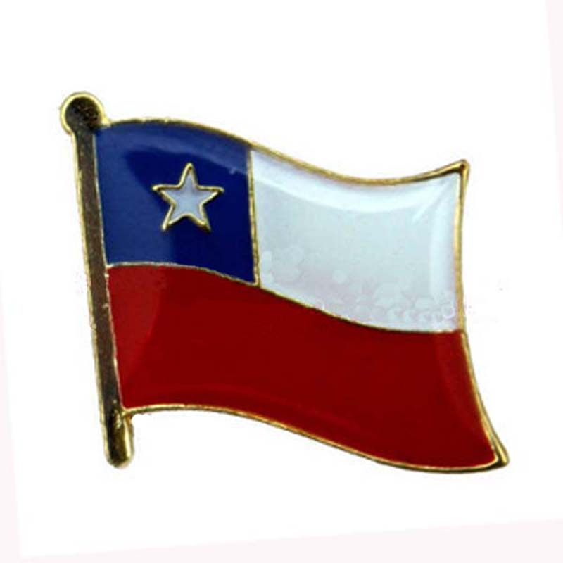 Chile National Lapel Pin