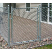 Galvanized Chain Link Fence Gate for The Factory (TS-J606)