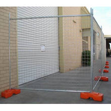 Temporary Construction Fence, Removable Fence, Galvanized Canada Temporary Fence