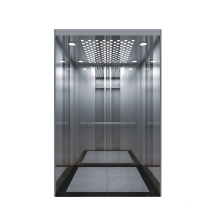 Passenger elevator used hairline stainless steel cabin wall Lift
