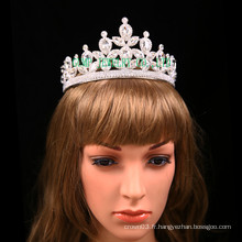 De haute qualité mariée mariage strass tiaras couronne de cristal