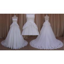 Lace Layered Tulle Jupe dentelle robe de mariée 2016