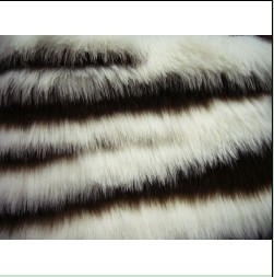 Jacquard Faux  Fabric Fur
