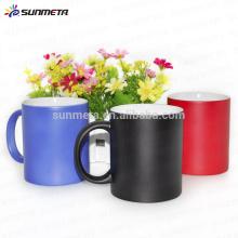Taza del cambio del color de la sublimación, fuente directa de la fábrica de la taza de cerámica de la alta calidad