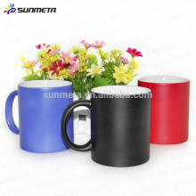 sublimation colour change mug, high quality ceramic mug factory direct supply