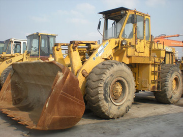 Used Kawasaki 85z wheel loader