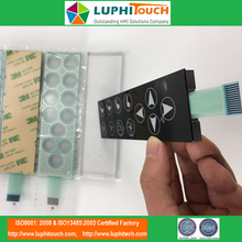 Penutup PC PET Circuit Capacitive Touch Membran Switch