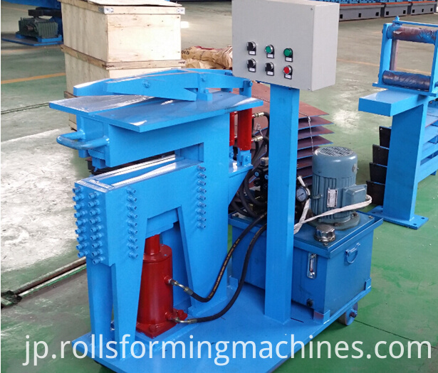 shearing and welding system