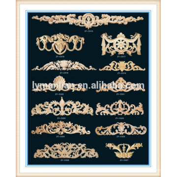 antiken hölzernen Bettrahmen des chinesischen meistverkauften Handwerks dekorativen Formteils