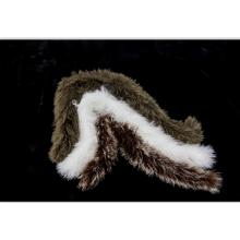 Gros Long cheveux mongol agneau bouclés fourrure écharpe