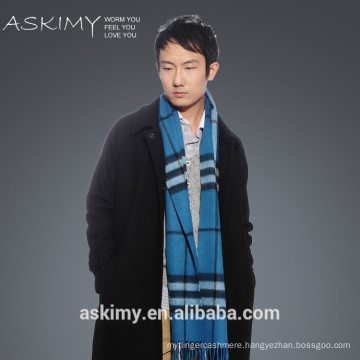 2015 mens scottish cashmere scarf tassel wholesale men cashmere scarf