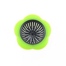 Cesta plástica do filtro do dreno do dissipador da cozinha do filtro do dissipador