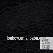 Tela de alta calidad al por mayor de la piel falsa del rayón del algodón de la alta calidad para la capa