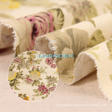 Queen Flower Patterns 250GSM Sofa Textile Canvas Fabric