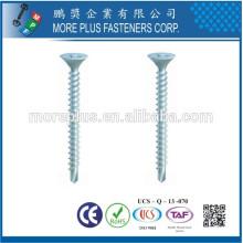 Fabricado em parafusos de drywall de aço carbono com ponto de perfuração