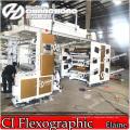 4 Цветов Нейлона Печатная Машина Flexo